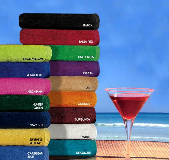 beach towels below wholesale custom and monogrammed at discount prices - Monogrammed Beach Towels